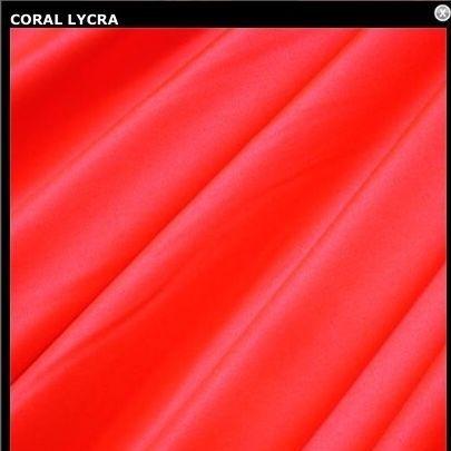 Coral lycra