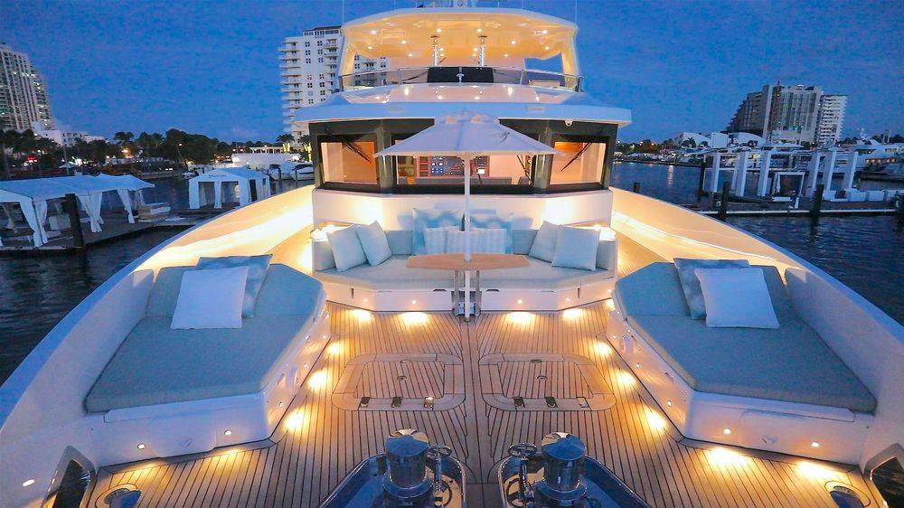 Newport Yacht Interiors, NuMarine, custom cushions, yacht interior design