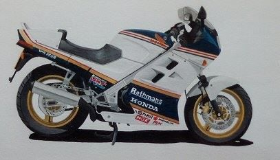 Honda VFR 750 Acrylic : Commission UK