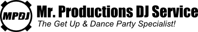 Mr. Productions DJ Service logo
