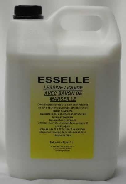 LESSIVE SAVON DE MARSEILLE 5 L