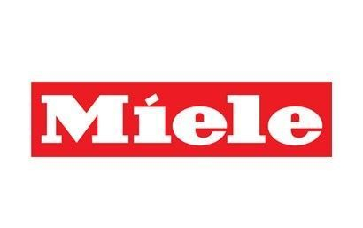 Miele logo for Miele replacement refrigerator fridge ice water filter cartridge stocked & sold at www.aaafilterfast.co.uk