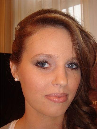 maquillage lors du salon du mariage 2012