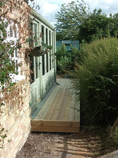 SOFTWOOD DECKING IDEAS CAMBRIDGESHIRE