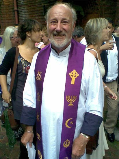 John on Ordination Day 2010.