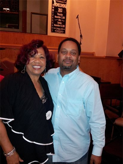 Bro Chauncey with Evelyn Turrentine Agee