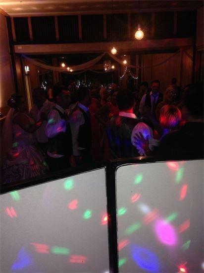 Wedding dance floor Gippsland Party Hire DJ DJ Glenno