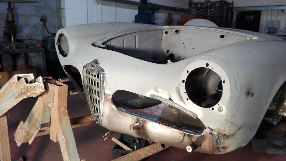 Alfa Romeo restoration.