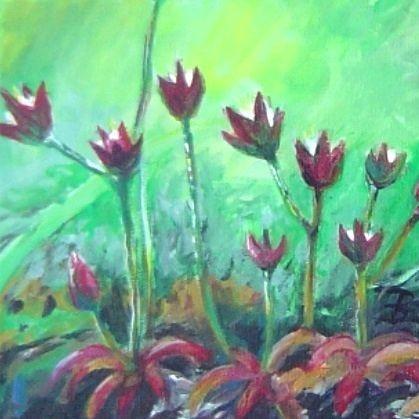 rock jasmine painting