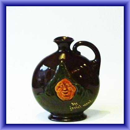 """""""The jovial monk""""-Royal Doulton, Dewers whisky"""