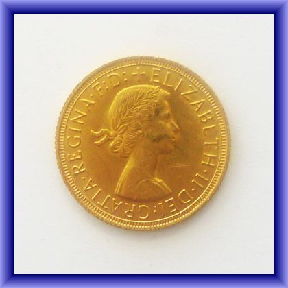 GOLD COINS | 1958 Elizabeth II full sovereign