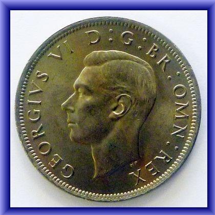 George VI 1947 half crown