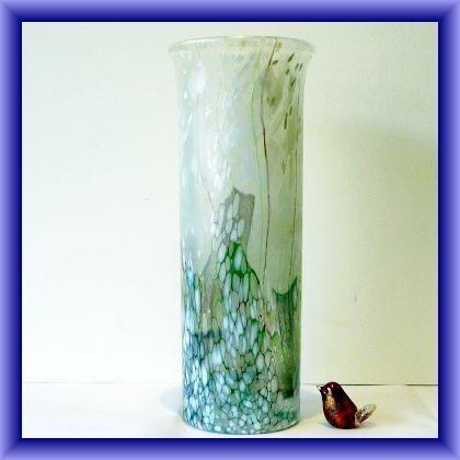 Flower Garden globe vase(Lily), 14cm h x 43.5 circ