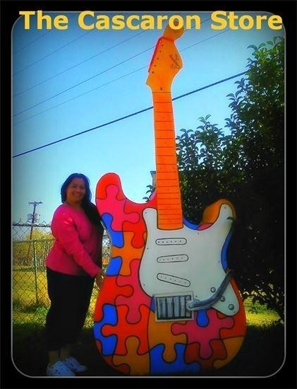 Guitar Prop Custom Decoration