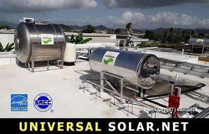 Cisterna y Calentador solar