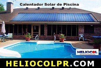 Calentador Solar Piscina | HELIOCOL