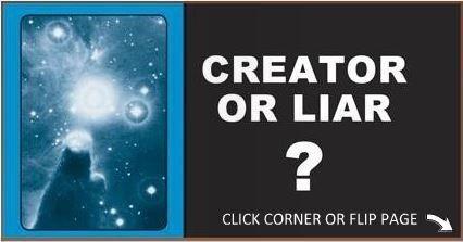 CREATOR OR LIARExistance of God, Apologetics gospel tract