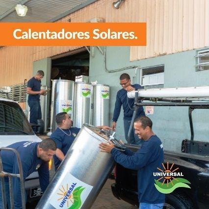 tanques de calentadores solares