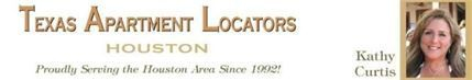 image banner lady with text Kathy Curtis, Texas Apartment Locators Houston