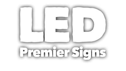 10mm LED Signs logo