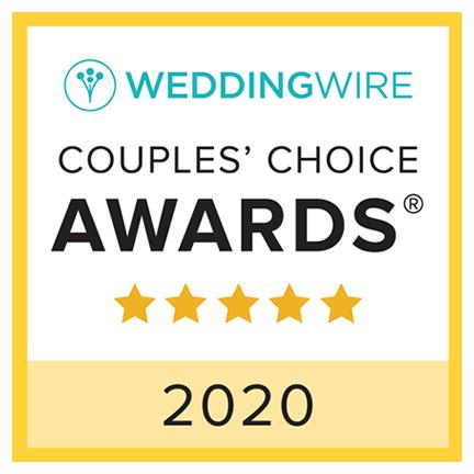 2019 Wedding Wire couple's choice award