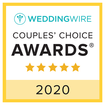 2019 Wedding Wire couple's choice award