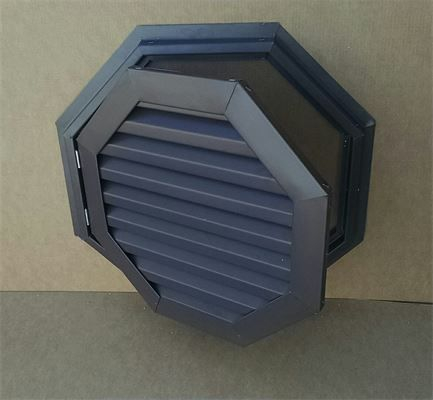Hinged Octagon Aluminum Gable vent