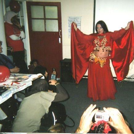 Earthmoves costume carnival festival dance tuition energy joyful