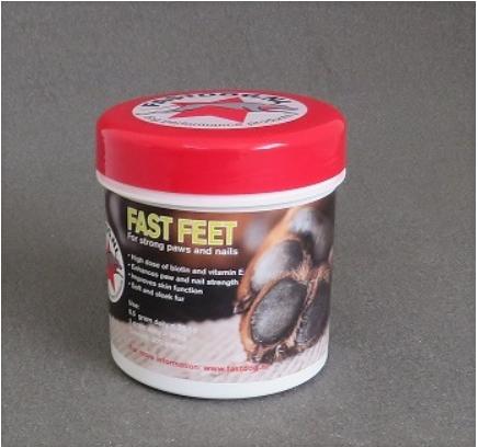 Fastdog fast feet voedingssupplement ellen's happy dogs hasselt