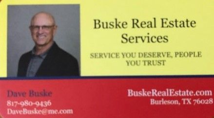 Realtor Dave Buske, Searchers Inspections Recommended Agent