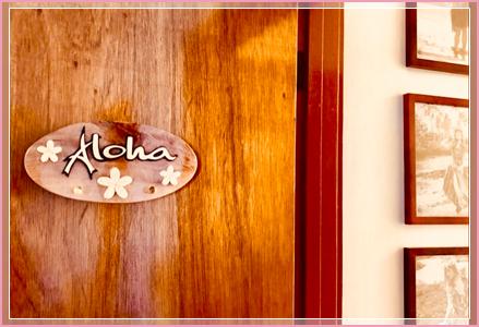 An Aloha sign