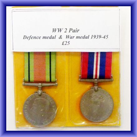 WW2/Defence medal/war medal/39-45