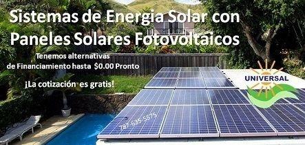 Paneles solares fotovoltaicos Puerto Rico