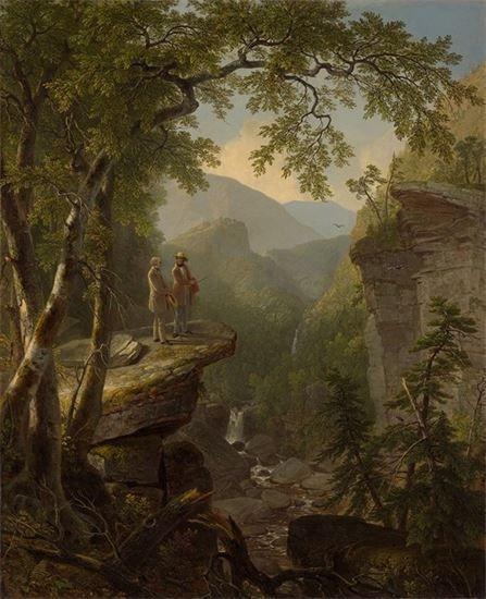New York's Hudson River School: Kindred Spirits 1849 Asher B. Durand