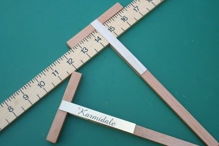 Dog Measuring Sticks available either plain or personalised