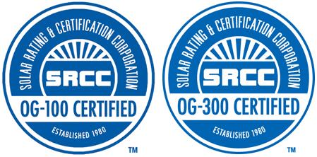 Certificaciones calentadores solares comerciales, Universal Solar