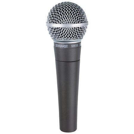 Shure SM 58 wired mic for rent