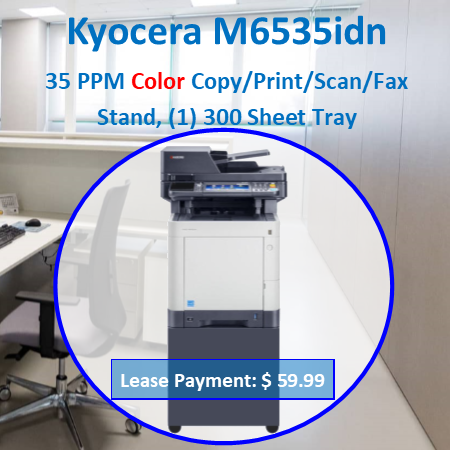 "The Copystar CS 306ci brings affordable color to document imaging, offering scalable features, output speeds up to 32 ppm and print, copy, scan and fax capability, all in a compact footprint. An intuitive 4.3"" color TSI powers productivity with easy access to features and functionality, while a full suite of optional Business Applications takes productivity to new levels. Combined with proven KYOCERA long-life technology and reliability, the Copystar CS 306ci is the smart choice for your evolving business needs"