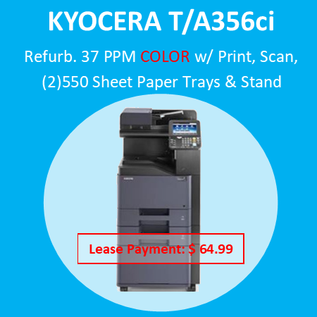 """The Copystar CS 306ci brings affordable color to document imaging, offering scalable features, output speeds up to 32 ppm and print, copy, scan and fax capability, all in a compact footprint. An intuitive 4.3"""" color TSI powers productivity with easy access to features and functionality, while a full suite of optional Business Applications takes productivity to new levels. Combined with proven KYOCERA long-life technology and reliability, the Copystar CS 306ci is the smart choice for your evolving business needs"""