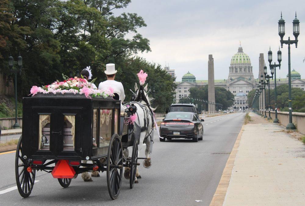 Harrisburg Funeral, Harrisburg Funeral Carriage, Harrisburg Carriage