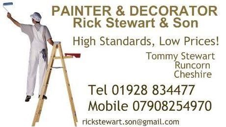 business contact info rick stewart painters and decorator
