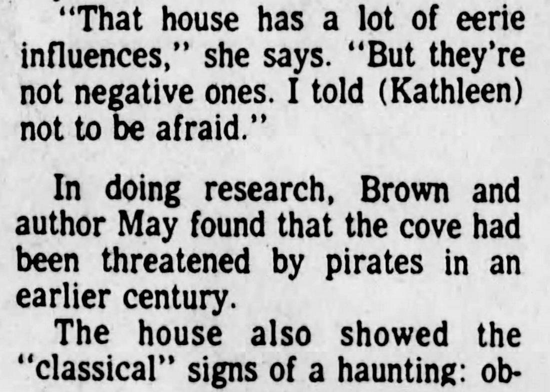 Red, White, and Blue Beach, Edwards' House haunted, Santa Cruz haunted