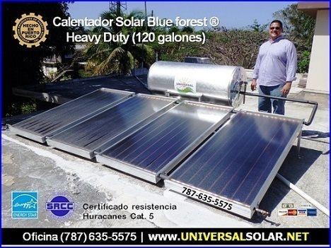 Calentador Solar Comercial $300 Bono