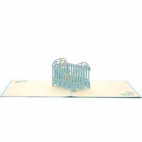 New Baby Cot (Blue)