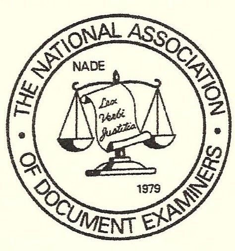 National Association of Document Examiners. Warren Spencer belongs to this group as a handwriting expert.