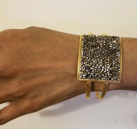 Designer Swarovski Cuff