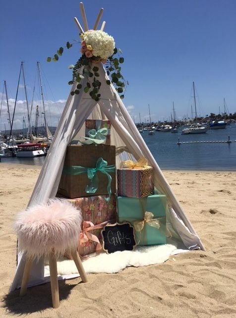 Wedding rentals, party rentals, teepee, teepee rentals, party planner, party planning, bridal shower ideas, bridal shower, bridal shower rentals, Newport Beach, CA, Orange County