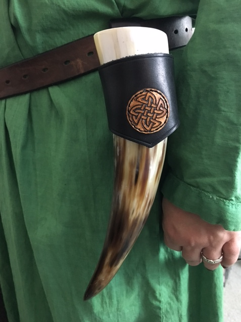 Drinking Horns, Horn Holder, Viking Age, Vikings, Iron Age, Shield Ravens