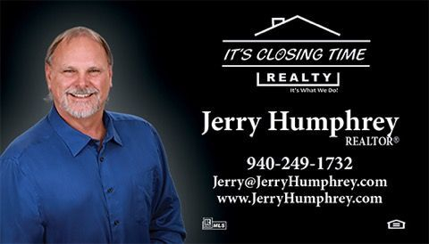 Realtor Jerry Humphrey, Searchers Inspections Recommended Agent