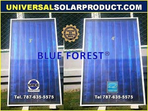 Placa de calentador solar
